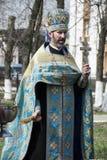 правоверный священник стоковая фотография rf