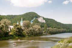Правоверный славянский монастырь Виски Украины Стоковое Фото