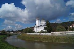 Правоверный собор в Sighisoara Стоковое Фото