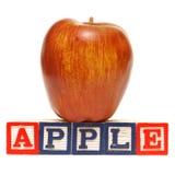 Правописание Apple Стоковые Фото