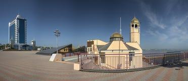 Православная церков церковь в морском порте Одессы Стоковое фото RF