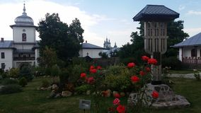 Православная церков церковь в северной области Румынии Стоковое Фото