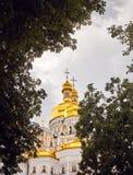 Православная церков церковь Киева Pechersk Lavra стоковые фотографии rf