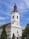 Православная церков церковь святого Архангела Майкл в Kajiza, Сербии Стоковые Изображения RF
