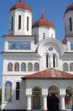 Православная церков церковь с мозаиками St. George стоковая фотография rf