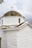 Православная церков церковь Skopelos стоковое изображение rf