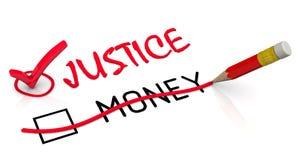 Правосудие более важно чем деньги бесплатная иллюстрация