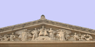 правосудие зал Стоковые Фото