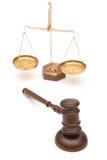 правосудие Стоковая Фотография