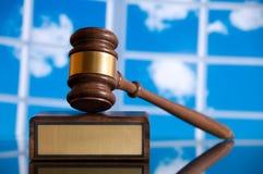 правосудие gavel Стоковые Изображения RF