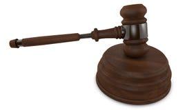 Правосудие жезла Стоковая Фотография