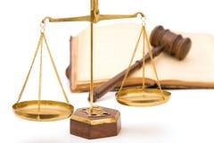правосудие Стоковое Изображение