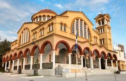 Православная церков церковь, ажио Achillios Larisa Thessaly Греция Стоковые Изображения