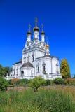 Православная церков церковь Веры, Nadezhda, Lyubov и матери их Софии Стоковая Фотография RF
