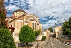 Православная церков церковь в Кавале стоковое фото