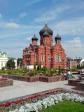 Православная церков церковь в русском городе Туле Стоковые Изображения