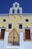 Православная церков церковь в Santorini Стоковая Фотография RF