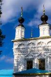 Православная церков церковь заступничества матери бога в городе Kaluga в центральной России стоковое фото rf