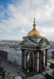 Православная церков церковь на Санкт-Петербурге стоковая фотография rf