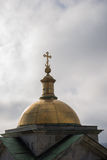 Православная церков церковь на Санкт-Петербурге стоковые фотографии rf