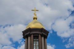 Православная церков церковь на Санкт-Петербурге стоковое изображение rf