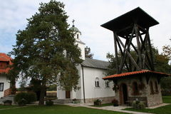 Православная церков церковь Banjani Стоковое Изображение