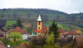 Православная церков церковь Buzd в Трансильвании Румынии Стоковое Фото
