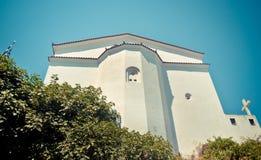 Православная церков церковь, Samos, Греция Стоковая Фотография RF