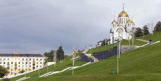 Православная церков церковь St Georges стоковые изображения