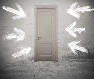 право двери стоковое изображение