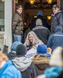 Право Вермонта к ралли жизни Стоковая Фотография