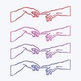 Право руки и левое искусство любов бесплатная иллюстрация