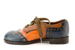 правый ботинок Стоковое фото RF
