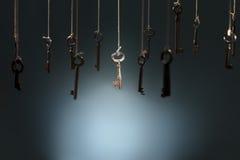 Правый ключ Стоковое Изображение