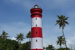 Правый на тарифе Башня маяка Стоковые Изображения RF