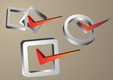 Правый символ Стоковые Изображения RF