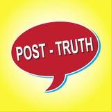 ` Правды столба ` значка Стоковое Фото