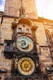 Прага, астрономические часы Стоковое фото RF