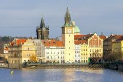 Прага Взгляд старого города Стоковое Изображение