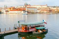 Прага Взгляд старого города Стоковые Фото