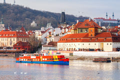 Прага Взгляд старого города Стоковое Фото