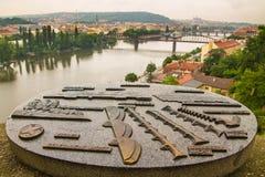 Прага, взгляд Стоковые Фотографии RF