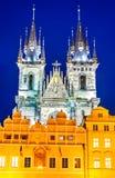 Прага, взгляд Mesto, чехия Стоковое фото RF