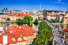 Прага, взгляд Mesto, чехия Стоковая Фотография RF
