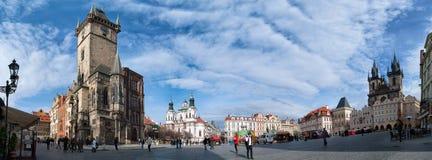 Прага - взгляд Mesto стоковые изображения rf