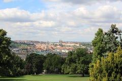 Прага в лете, чехии Стоковые Изображения
