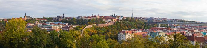 Прага панорама Стоковое фото RF