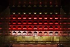 Прага подземная с покрашенной текстурой Стоковое Фото