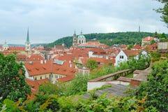 Прага старый городок Холм Petrin Стоковое Изображение