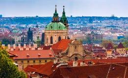 Прага столица чехии Стоковые Изображения